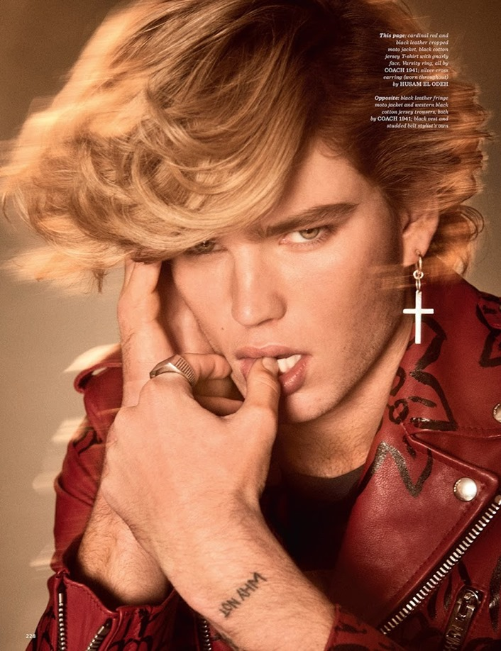 GQ STYLE UK Jordan Barrett by Giampaolo Sgura. Luke Day, Spring 2017, www.imageamplified.com, Image Amplified1