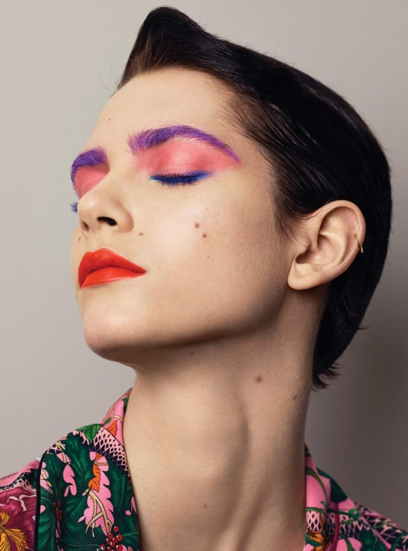 HARPER'S BAZAAR MAGAZINE Colour and Contrast by Sebastian Faena. Carine Roitfeld, May 2017, www.imageamplified.com, Image Amplified17