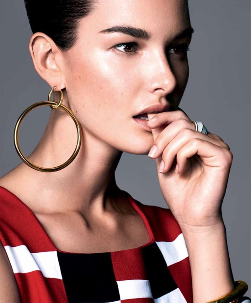 HARPER'S BAZAAR SERBIA Ophelie Guillermand by Andrew Yee. Marko Mrkaja, April 2017, www.imageamplified.com, Image Amplified8