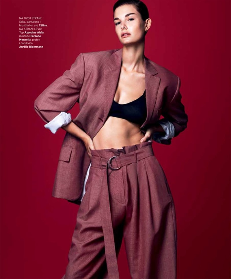 HARPER'S BAZAAR SERBIA Ophelie Guillermand by Andrew Yee. Marko Mrkaja, April 2017, www.imageamplified.com, Image Amplified9