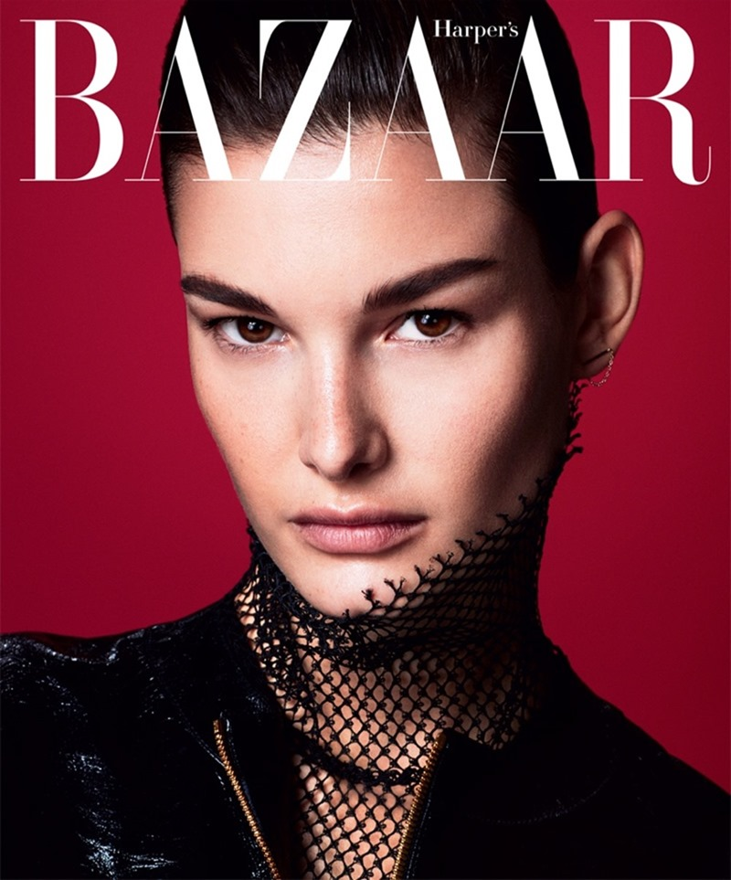 HARPER'S BAZAAR SERBIA Ophelie Guillermand by Andrew Yee. Marko Mrkaja, April 2017, www.imageamplified.com, Image Amplified2