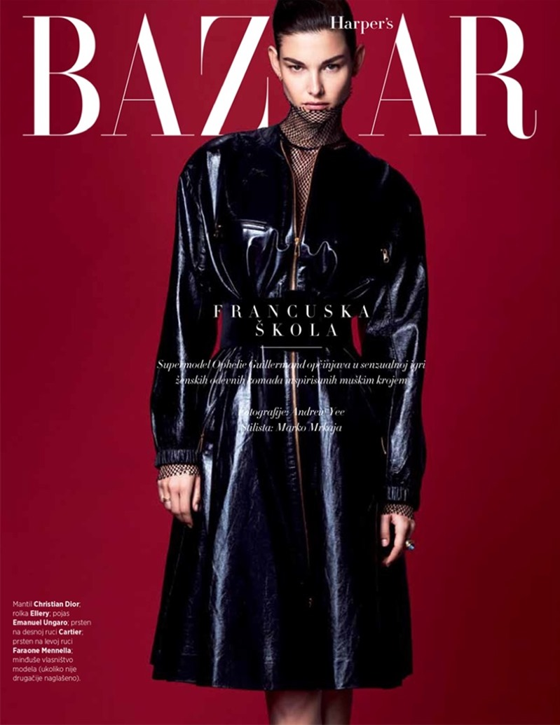 HARPER'S BAZAAR SERBIA Ophelie Guillermand by Andrew Yee. Marko Mrkaja, April 2017, www.imageamplified.com, Image Amplified3