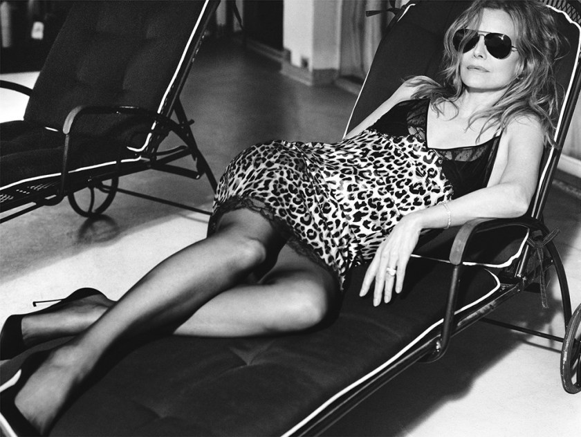 INTERVIEW MAGAZINE Michelle Pfeiffer by Mikael Jansson. George Cortina, April 2017, www.imageamplified.com, Image Amplified9