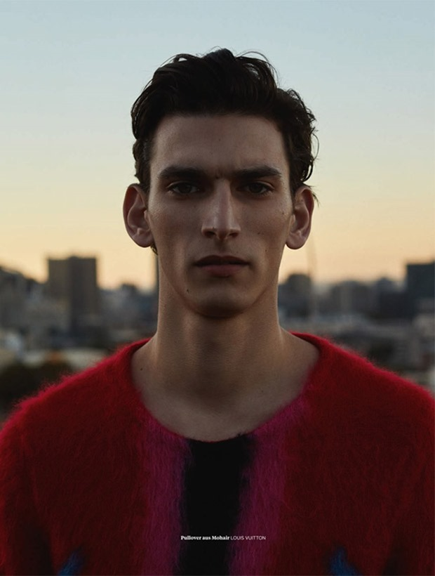 L'OFFICIEL HOMMES GERMANY Thibaud Charon by Jana Gerberding. Isabelle Thiry, Spring 2017, www.imageamplified.com, Image Amplified1