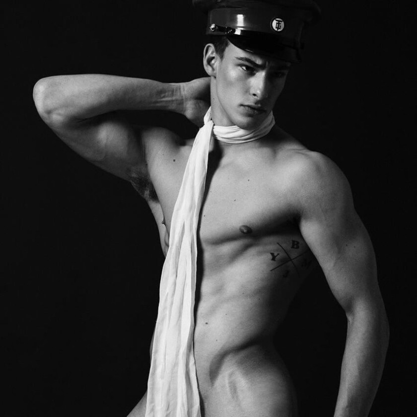 MASCULINE DOSAGE Justin Petzchke by Frederic Monceau. Spring 2017, www.imageamplified.com, Image amplified1
