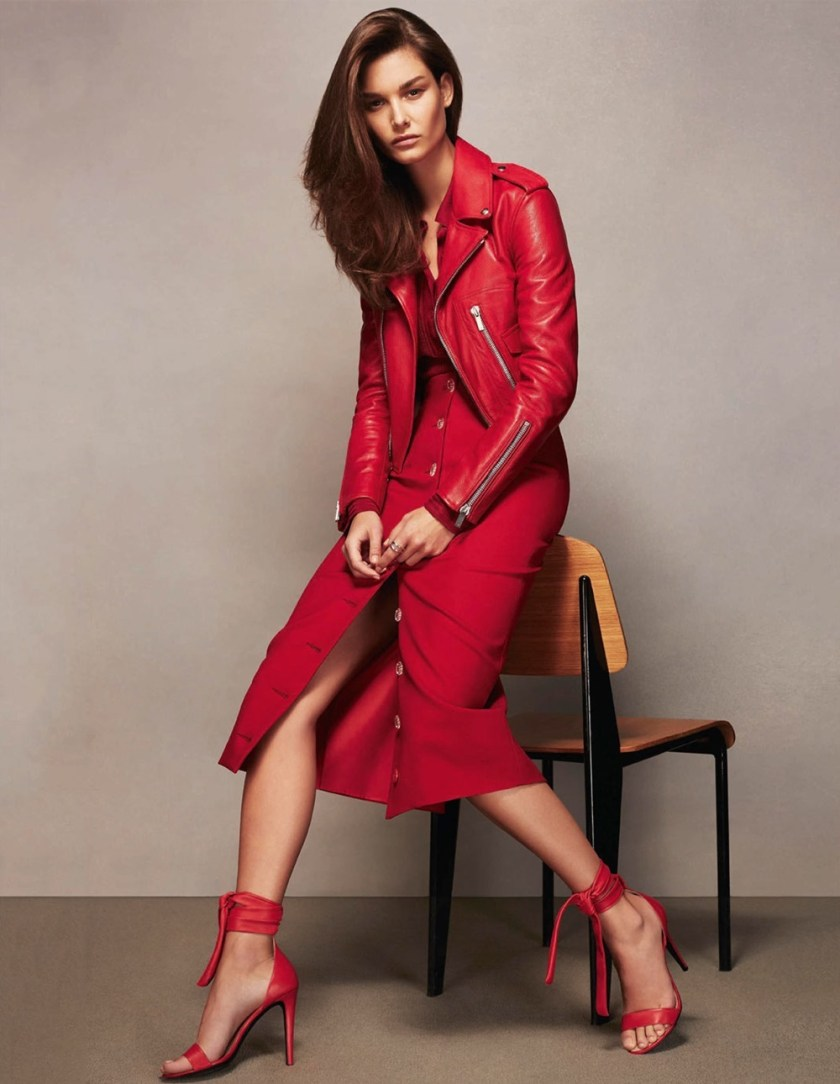 PORTER MAGAZINE Ophelie Guillermand by Anthony Maule. Helen Broadfoot, Summer 2017, www.imageamplified.com, Image Amplified3