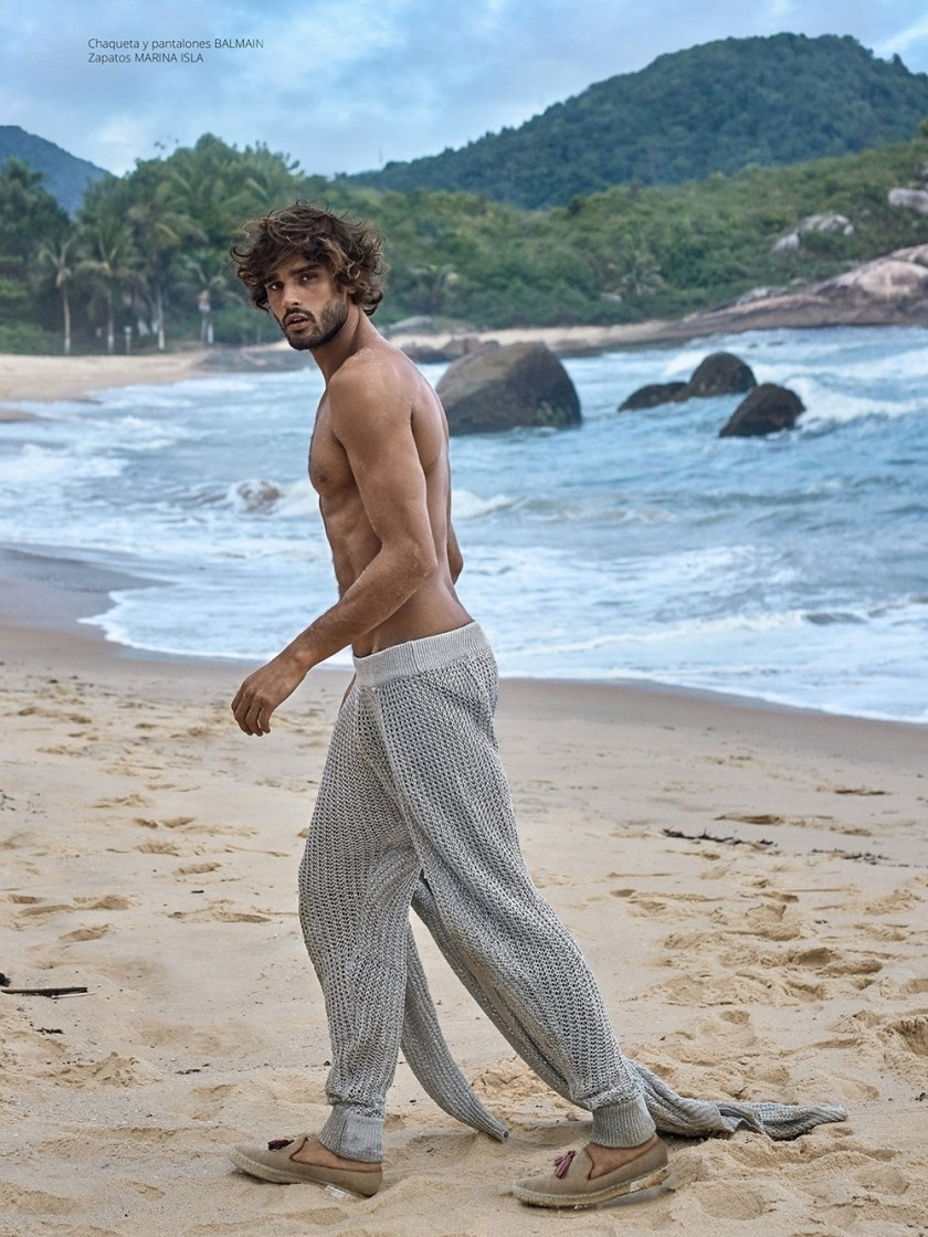 RISBEL MAGAZINE Marlon Teixeira by Greg Swales. Newheart Chanian, Spring 2017, www.imageamplified.com, Image Amplified18