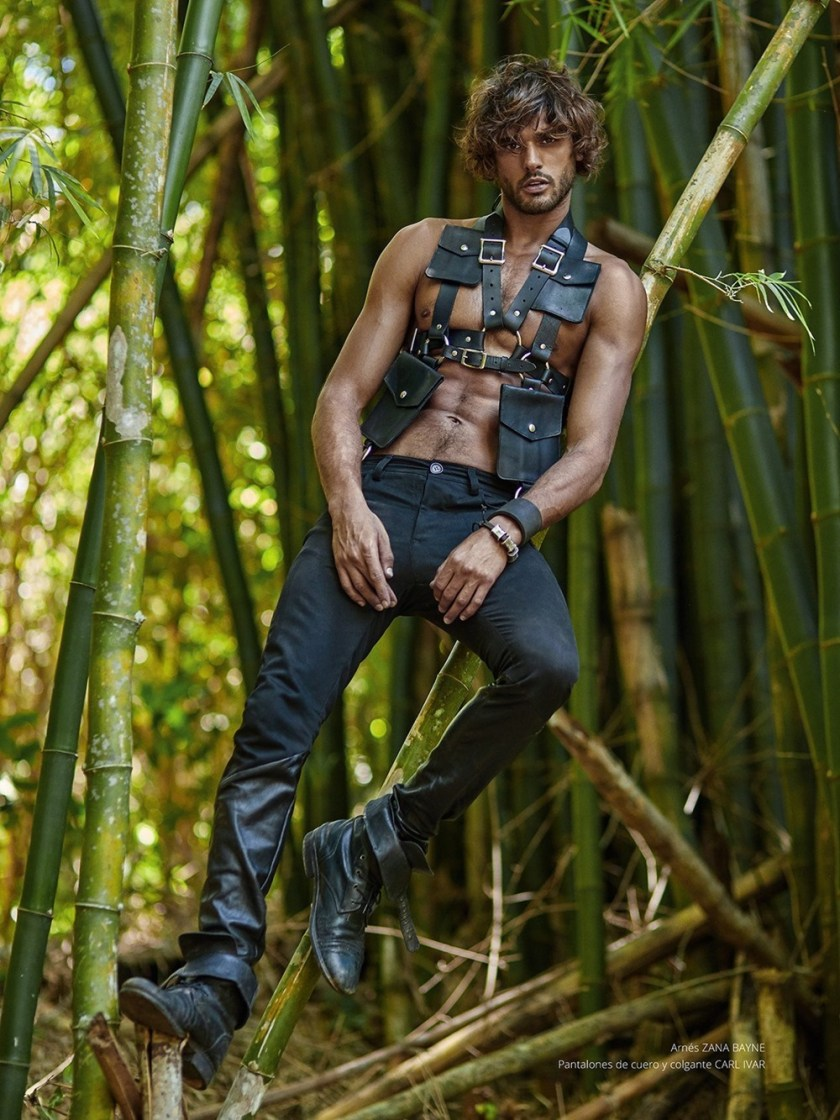 RISBEL MAGAZINE Marlon Teixeira by Greg Swales. Newheart Chanian, Spring 2017, www.imageamplified.com, Image Amplified17