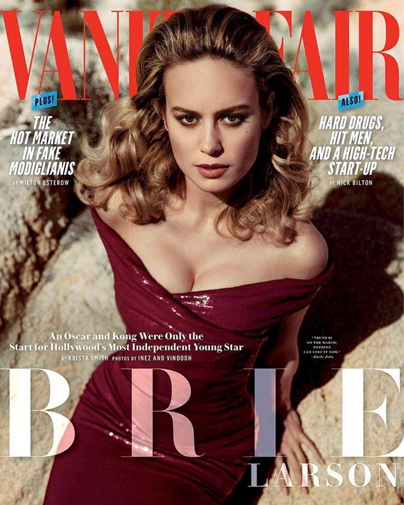 VANITY FAIR MAGAZINE Brie Larson by Inez & Vinoodh. Jessica Diehl, May 2017, www.imageamplified.com, Image Amplified1