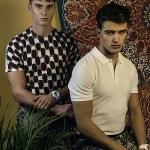 VANITY TEEN ONLINE: Niclas Gonzales & Philipp Sroda by Dominikh Mueller