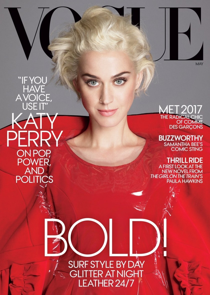 VOGUE MAGAZINE Katy Perry by Mert & Marcus. Grace Coddington, May 2017, www.imageamplified.com, Image Amplified1