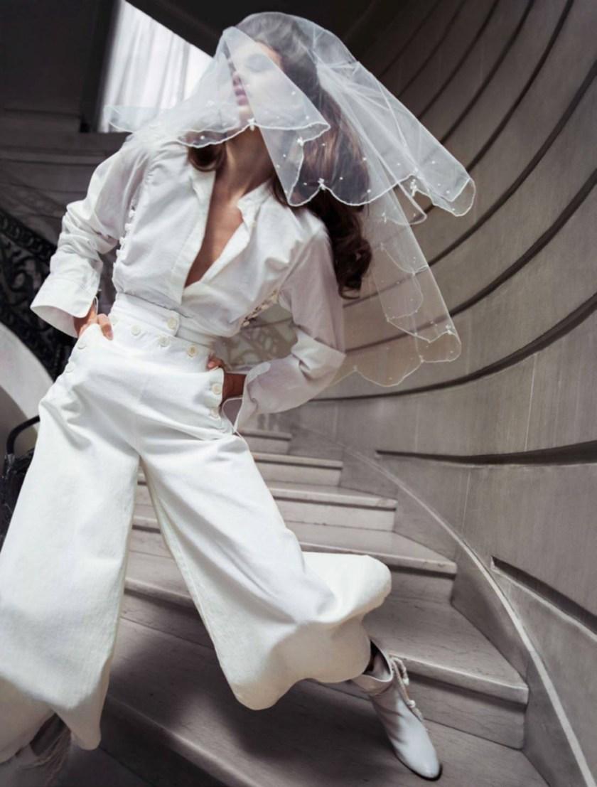 VOGUE PARIS Kiss the Bride by Inez & Vinoodh. Emmanuelle Alt, May 2017, www.imageamplified.com, Image Amplified4