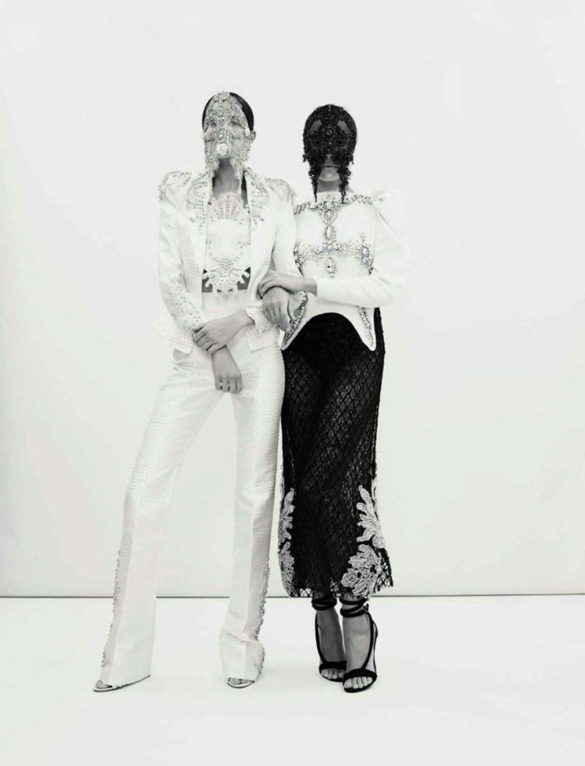 VOGUE SPAIN Cameron Russell & Adwoa Aboah by Emma Summerson. Patti Wilson, April 2017, www.imageamplified.com, Image Amplified4