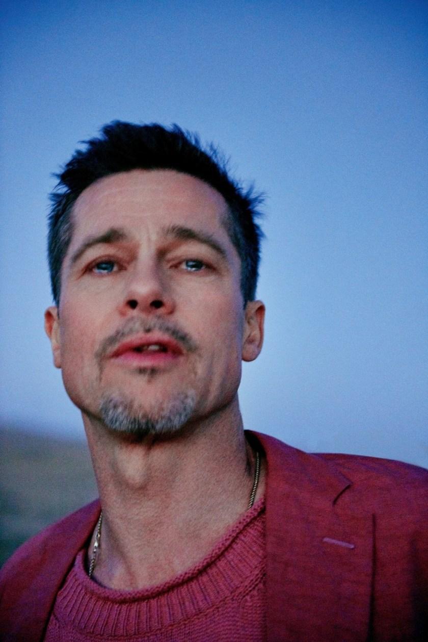6ec4065449 GQ STYLE UK  Brad Pitt by Ryan McGinley – Image Amplified