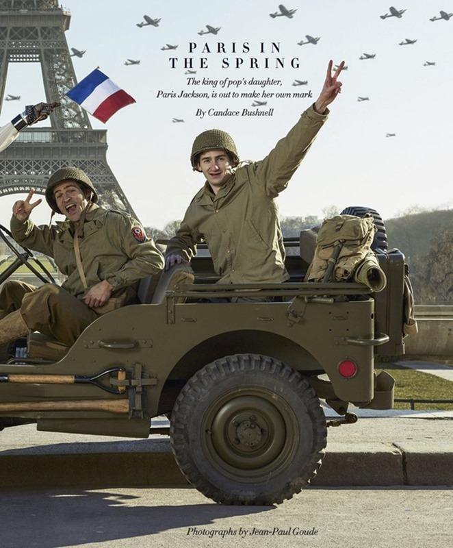 HARPER'S BAZAAR MAGAZINE Paris Jackson by Jean-Paul Goude. Alex Aikiu, April 2017, www.imageamplified.com, Image Amplified5