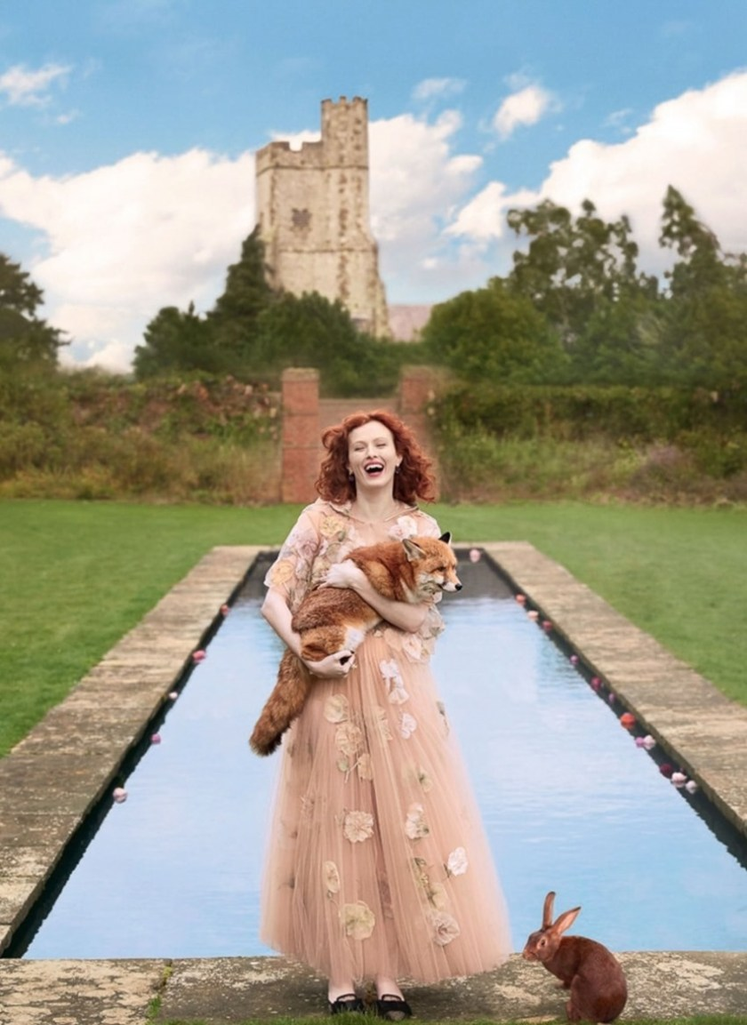 HARPER'S BAZAAR UK Karen Elson by Richard Phibbs. Miranda Almond, June 2017, www.imageamplified.comm, image Amplified4