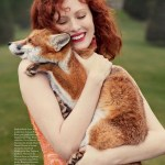 HARPER'S BAZAAR UK: Karen Elson by Richard Phibbs