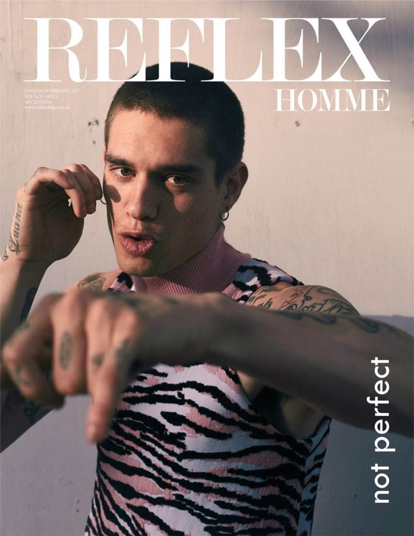 REFLEX HOMME Brian de Souza by Jorge Anaya. Arield Mendes, Spring 2017, www.imageamplified.com, Image Amplified1