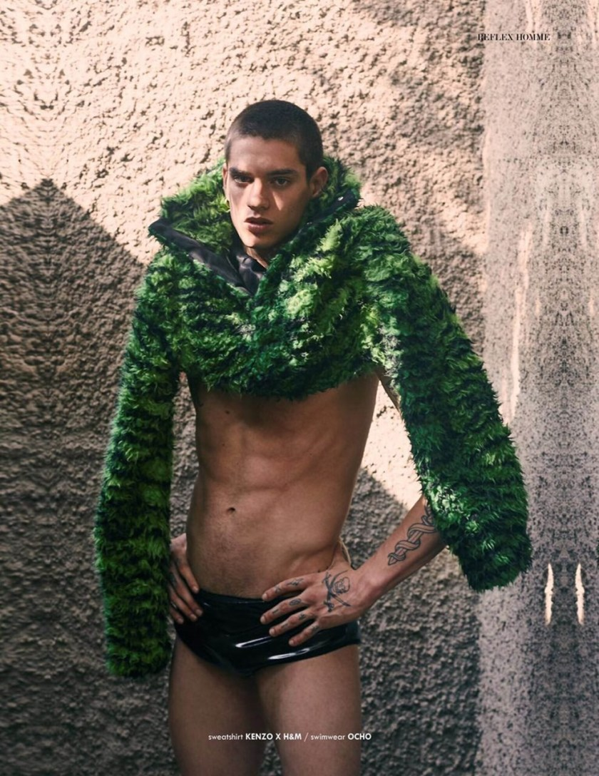 REFLEX HOMME Brian de Souza by Jorge Anaya. Arield Mendes, Spring 2017, www.imageamplified.com, Image Amplified6