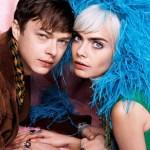 V MAGAZINE: Cara Delevigne & Dane DeHaan by Karl Lagerfeld