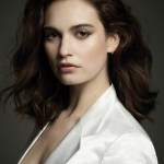 DUJOUR MAGAZINE: Lily James by Jason Bell