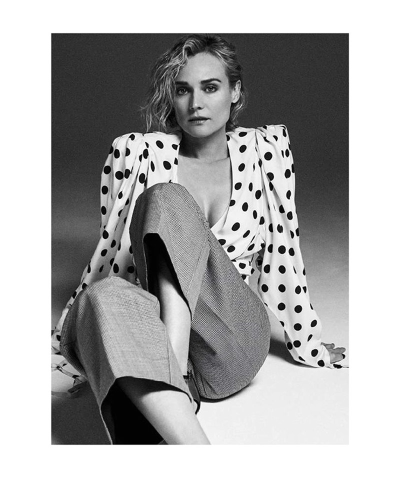 GRAZIA FRANCE Diane Kruger by Van Mossevelde N. Marine Chaumien, May 2017, www.imageamplified.com, Image Amplified4