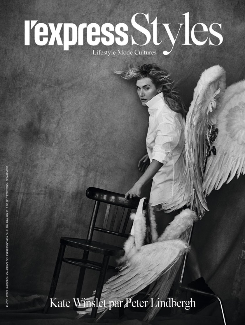 L'EXPRESS STYLES Kate Winslet by Peter Lindbergh. Darcy Backlar, May 2017, www.imageamplified.com, Image Amplified1