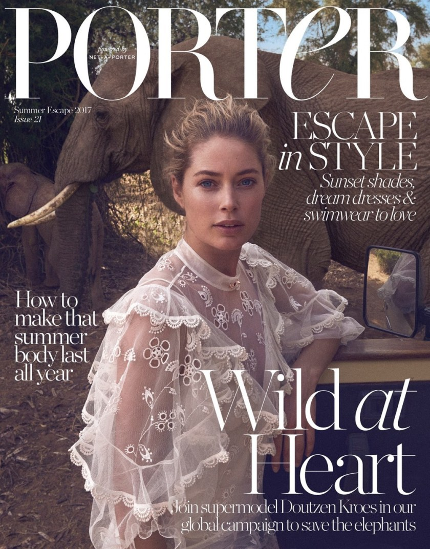 PORTER MAGAZINE Doutzen Kroes by Vincent van de Wijngaard. Julia von Boehm, Summer 2017, www.imageamplified.com, Image Amplified2