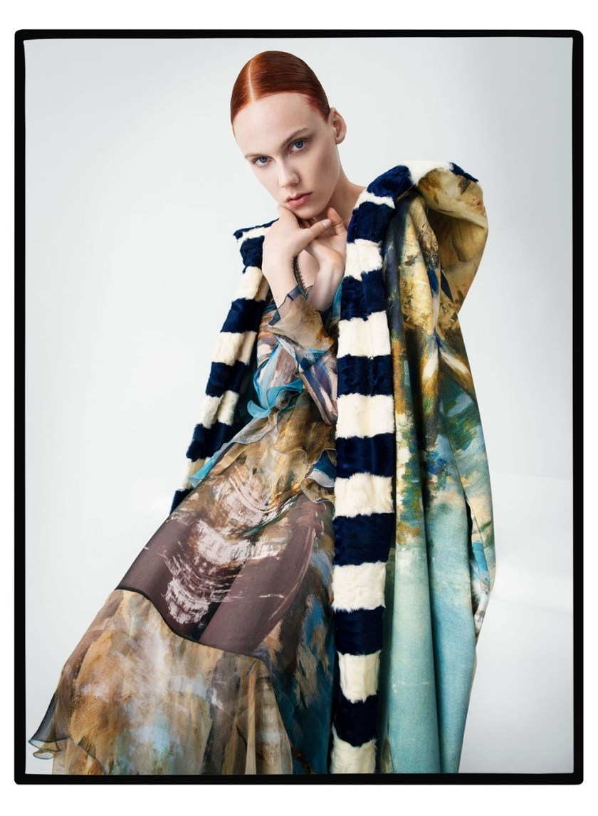 CAMPAIGN Alberta Ferretti Fall 2017 by Tim Walker. Carine Roitfeld, www.imageamplified.com, Image Amplified1