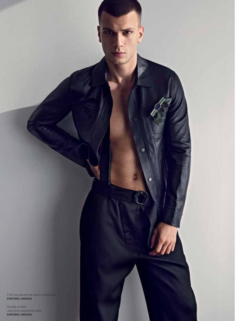 L'OFFICIEL HOMMES BRAZIL Cristi Isofii & Jaad Belgaid by Neal Franc. Juliano Corbetta, Spring 2017, www.imageamplified.com, Image Amplified5