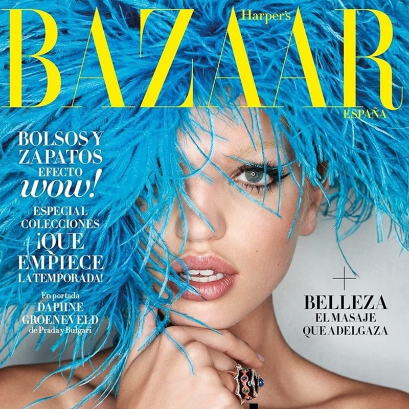 HARPER'S BAZAAR SPAIN Daphne Groeneveld by Zoltan Tombor. Beatriz Moreno de la Cova, August 2017, www.imageamplified.com, Image Amplified1