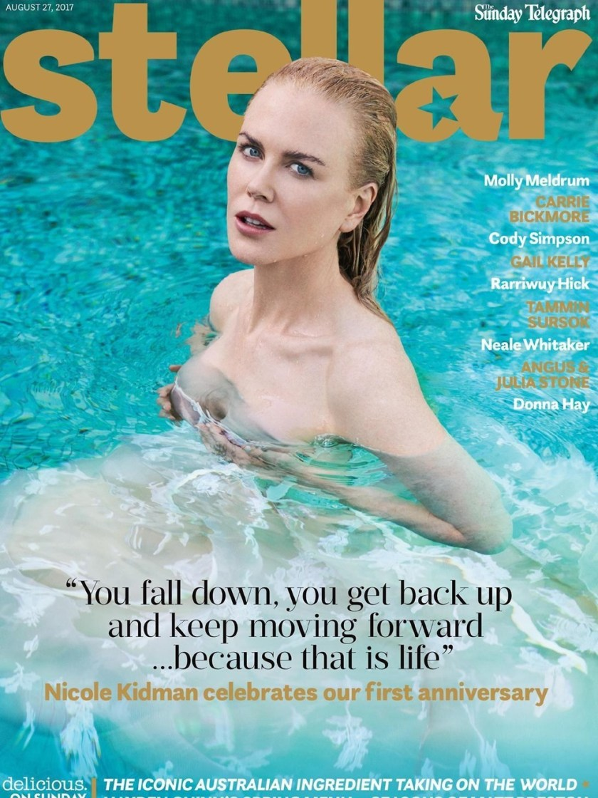 STELLAR MAGAZINE Nicole Kidman by Nino Munoz. Summer 2017, www.imageamplified.com, Image Amplified10
