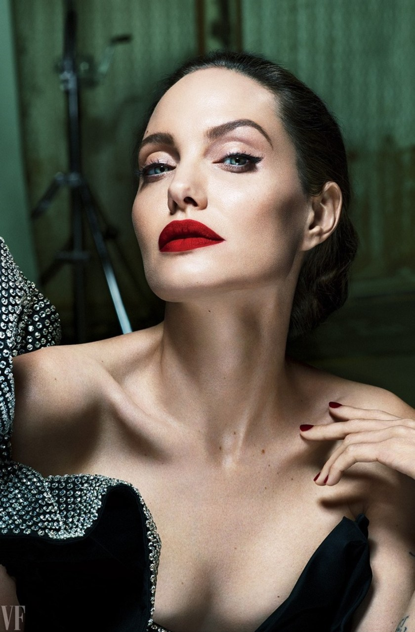 VANITY FAIR MAGAZINE Angelina Jolie by Mere & Marcus. Jessica Diehl, September 2017, www.imageamplified.com, Image Amplified9