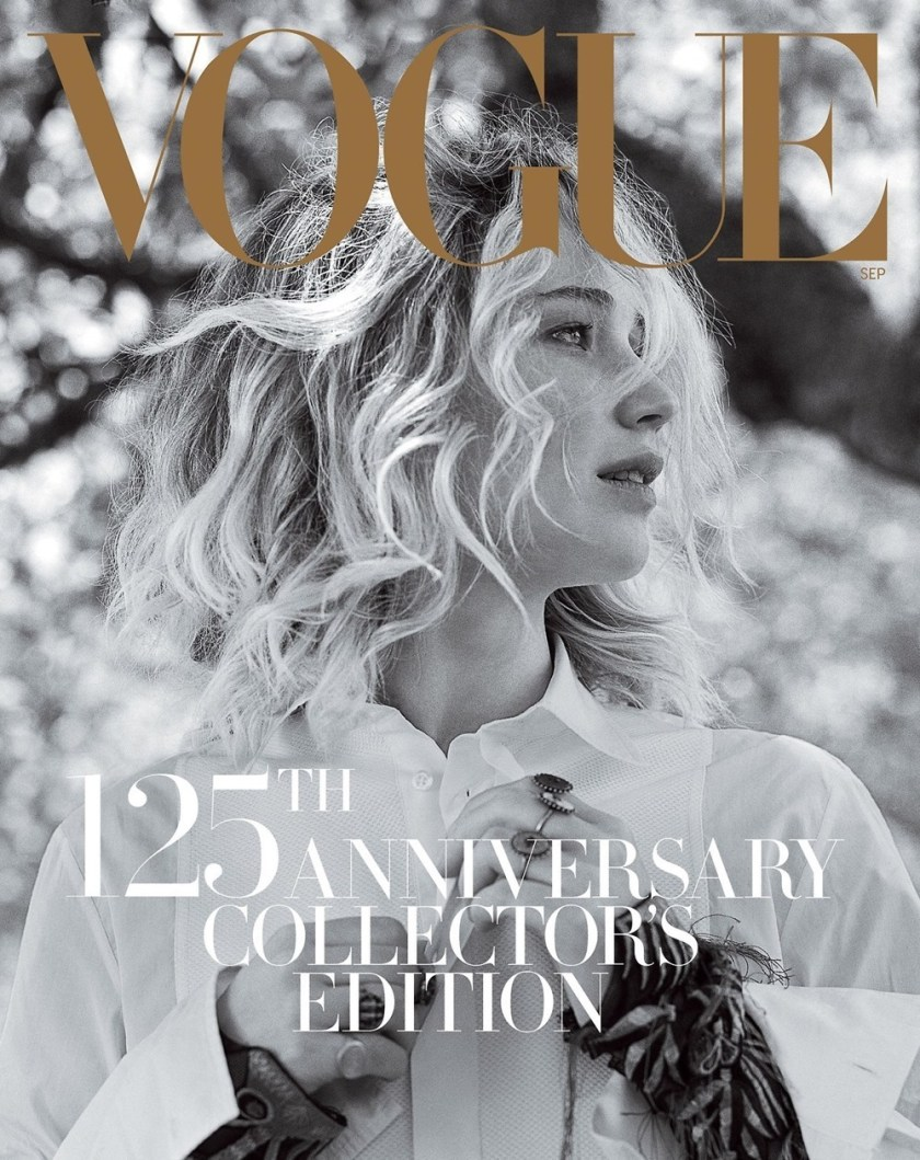 VOGUE MAGAZINE Jennifer Lawrence By Rob McKeever Annie Leibovitz Bruce Weber