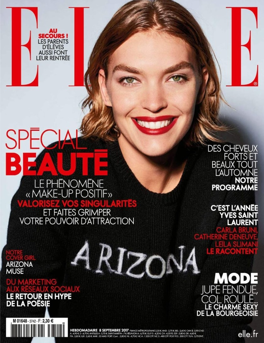 ELLE FRANCE Arizona Muse in Strictly Sensual by Liz Collins. Diane Boulenger, September 2017, www.imageamplified.com, Image Amplified1
