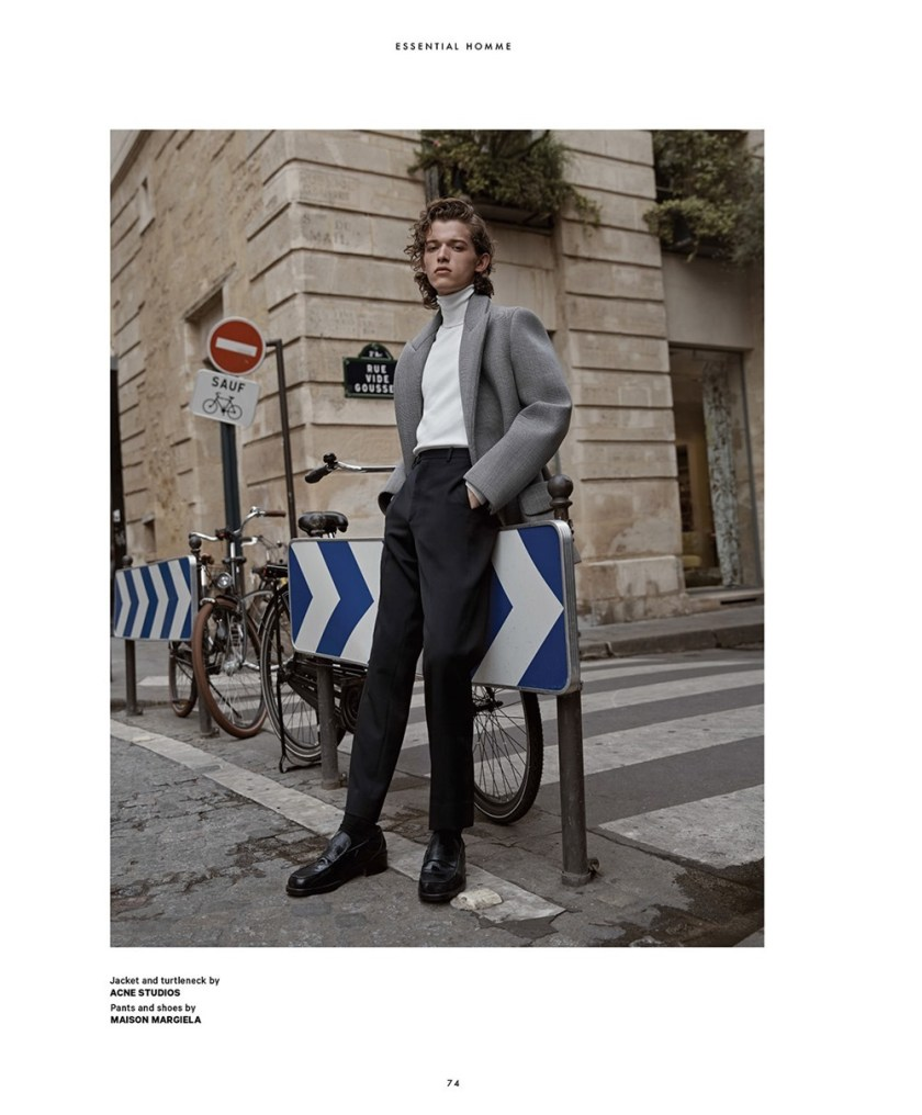 ESSENTIAL HOMME Paul Barge by Christopher Ferguson. James Sleaford, September 2017, www.imageamplified.com, Image Amplified9