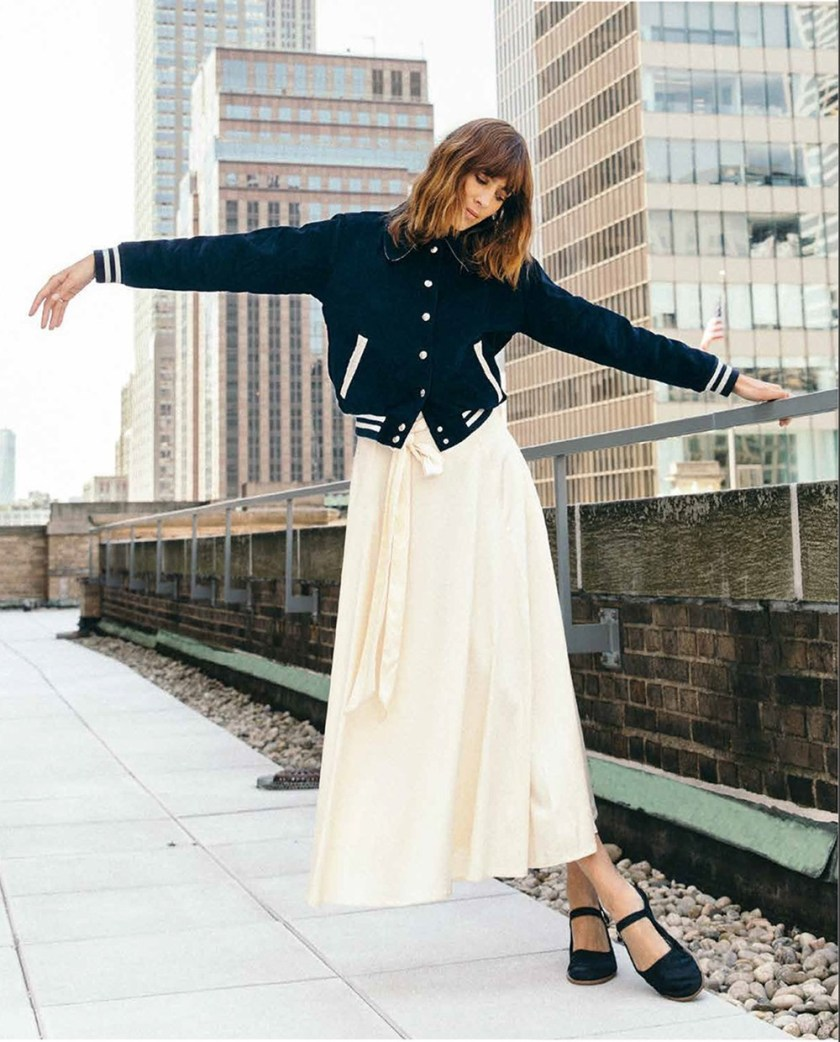 FOOTWEAR NEWS Alexa Chung by Leslie Kirchhoff. Fall 2017, www.imageamplified.com, Image Amplified