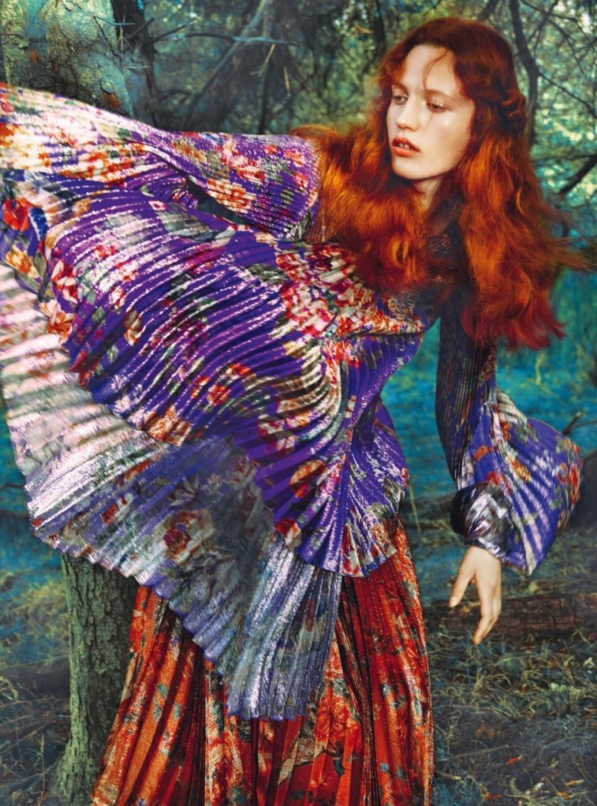 HARPER'S BAZAAR UK Julia Banas by Erik Madigan Heck. Leith Clark, September 2017, www.imageamplified.com, Image Amplified13