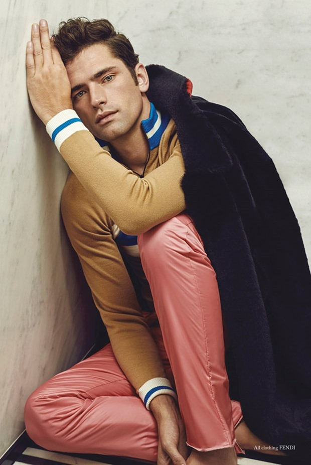 GLASS MEN MAGAZINE Sean O'Pry by Ssam Kim. Julie Brooke Williams, Fall 2017, www.imageamplified.com, Image Amplified7