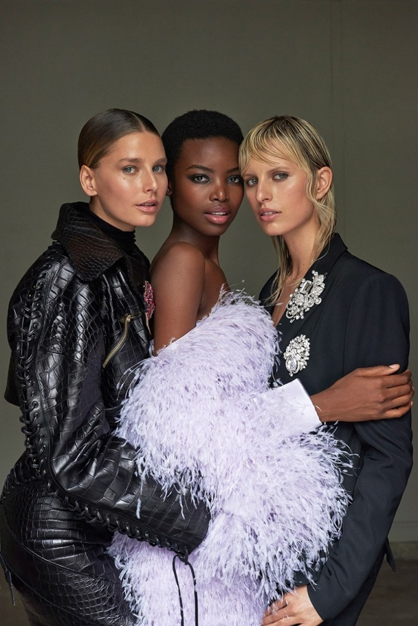 VOGUE PORTUGAL Karolina Kurkova, Hana Soukupova & Maria Borges by Branislav Simoncik. Jan Kralicek, October 2017, www.imageamplified.com, Image Amplified9