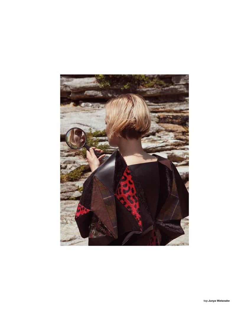 ZOO MAGAZINE Guinevere van Seenus by Nagi Sakai. Ye Young Kim, Fall 2017, www.imageamplified.com, Image Amplified4