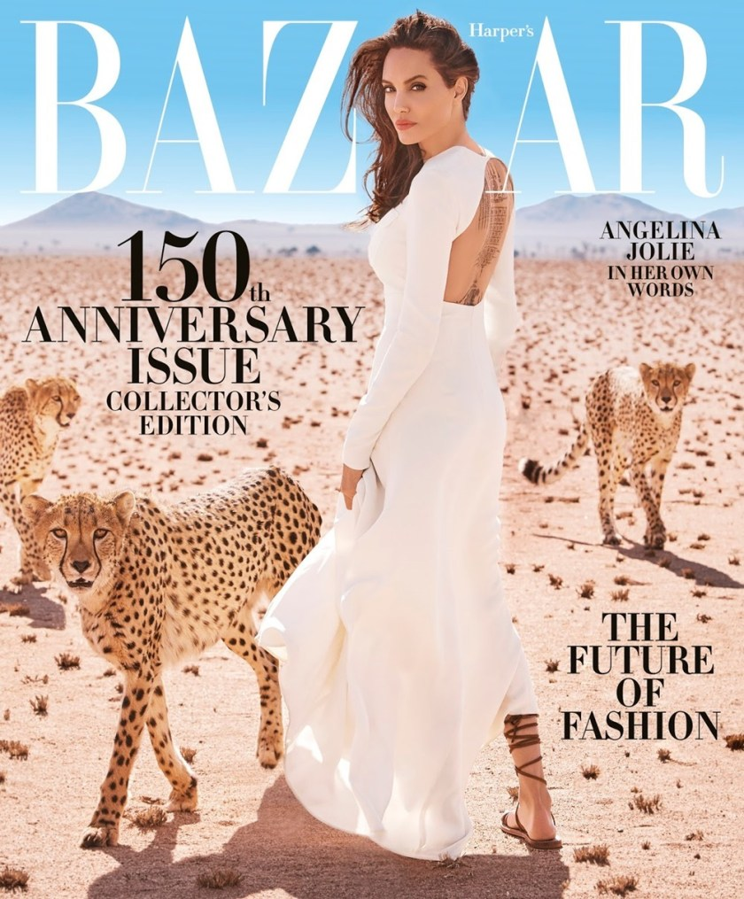 HARPER'S BAZAAR MAGAZINE Angelina Jolie by Alexi Lubomirski. Jennifer Rade, November 2017, www.imageamplified.com, Image Amplified2