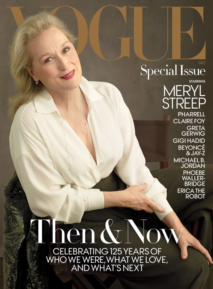 VOGUE MAGAZINE Meryl Streep by Annie Leibovitz. December 2017, www.imageamplified.com, Image Amplified1