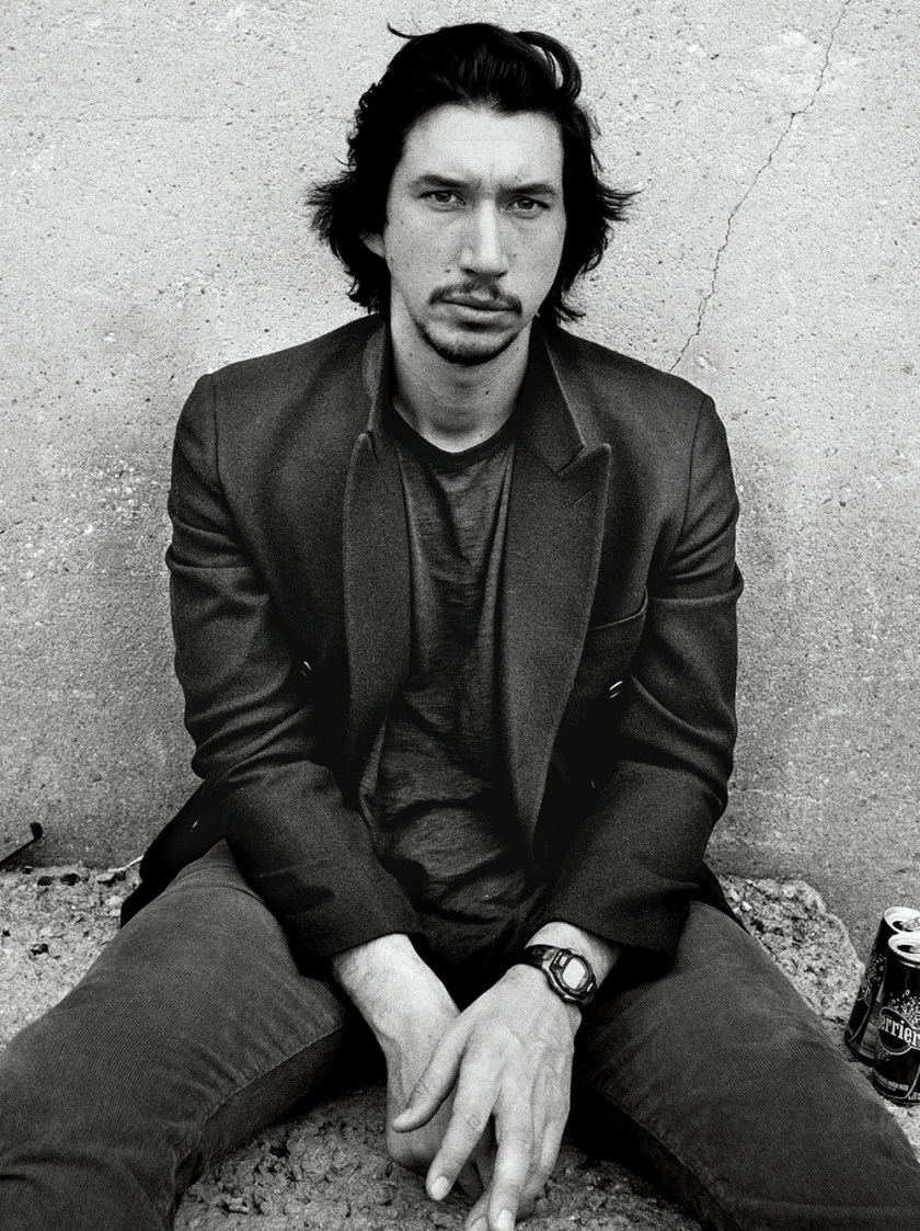 ESQUIRE MAGAZINE Adam Driver by Norman Jean Roy. Matthew Marden, December 2017, www.imageamplified.com, Image Amplified8