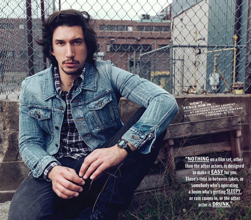 ESQUIRE MAGAZINE Adam Driver by Norman Jean Roy. Matthew Marden, December 2017, www.imageamplified.com, Image Amplified4