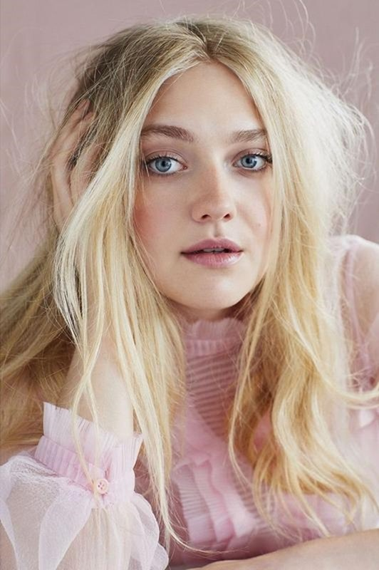 MARIE CLAIRE UK Dakota Fanning by David Roemer. Tiffany Fraser Steele, January 2018, www.imageamplified.com, Image Amplified2