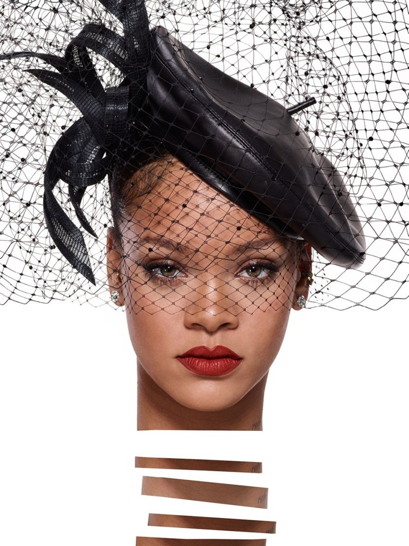 VOGUE PARIS Rihanna by Jean-Paul Goude. Aleksandra Woroniecka, January 2018, www.imageamplified.com, Image Amplified2
