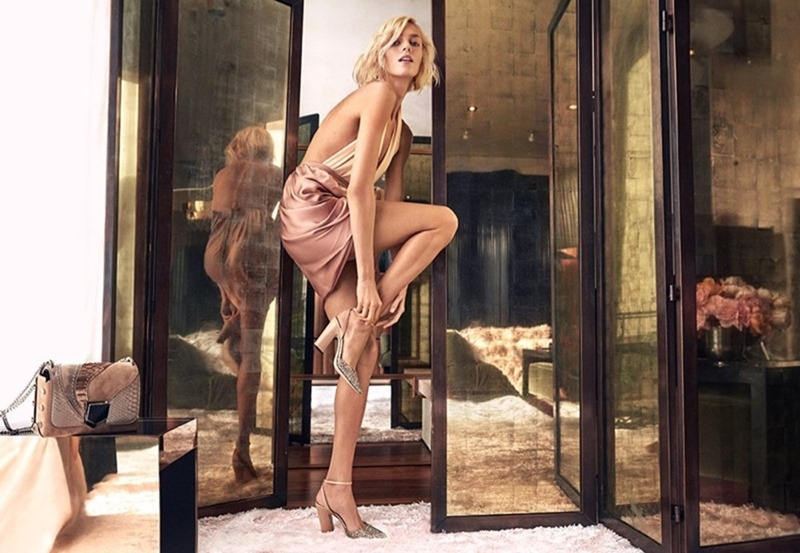 CAMPAIGN Anja Rubik for Jimmy Choo Spring 2018 by Craig McDean. www.imageamplified.com, Image Amplified1