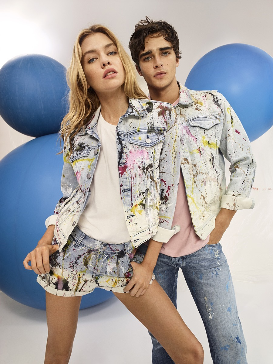 Pepe Jeans Girls New Berry Shepherd Jeans