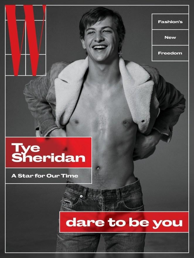 W MAGAZINE: Tye Sheridan by Ethan James Green | Image